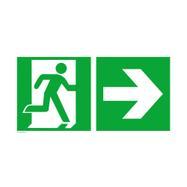 Zasilni izhod s puščico desno