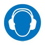 Obvezna uporaba zaščite sluha