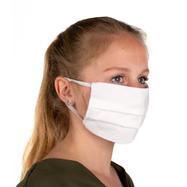 Zaščitna maska za obraz iz 100% bombaža, 2-slojna