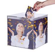 Prelepka za škatlo za nagradne igre