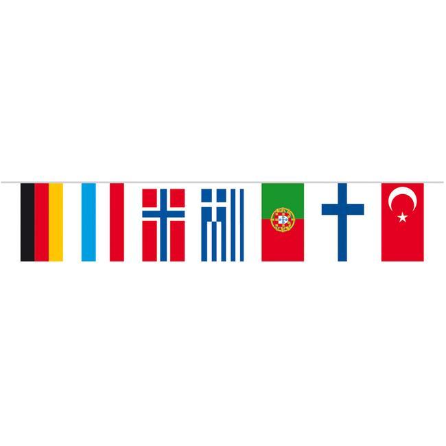 """Veriga zastavic """"Države"""""""