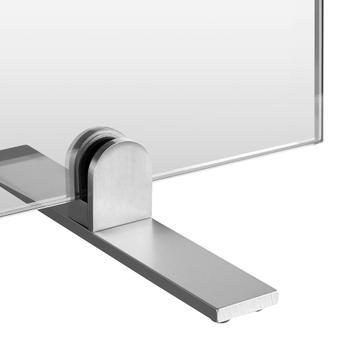 Zaščitna higienska pregrada iz stekla