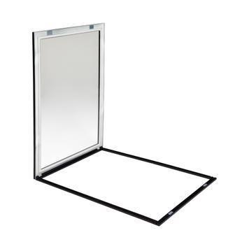 """Sistem okvirjev za okna iz umetne mase """"Feko-Eco"""", 17-mm profil"""